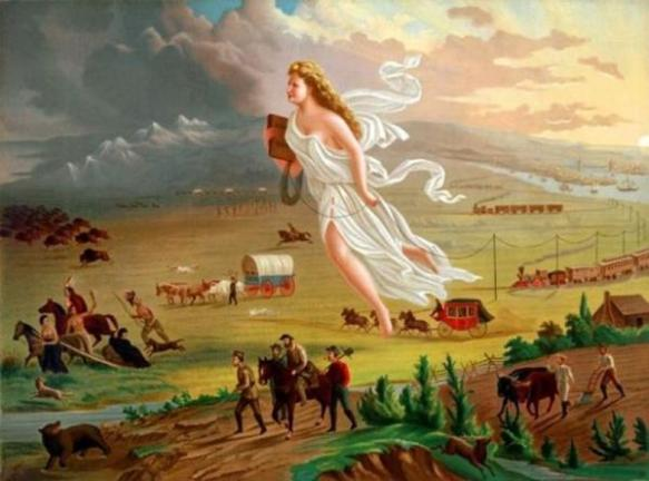 an examination of manifest destiny Vocabulary manifest destiny: the belief that america was destined by god to expand the nation across the continent mexican-american war: may 1846-february 1848.